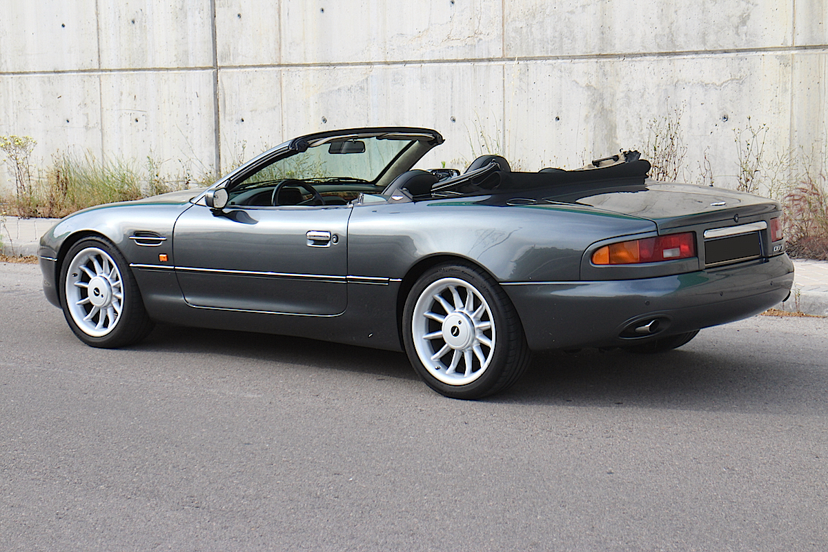 1997 aston martin db7 volante in madrid francisco pueche. Black Bedroom Furniture Sets. Home Design Ideas