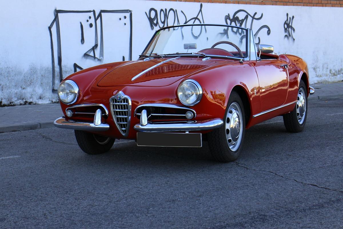 1960 alfa romeo giulietta spider collection cars since. Black Bedroom Furniture Sets. Home Design Ideas