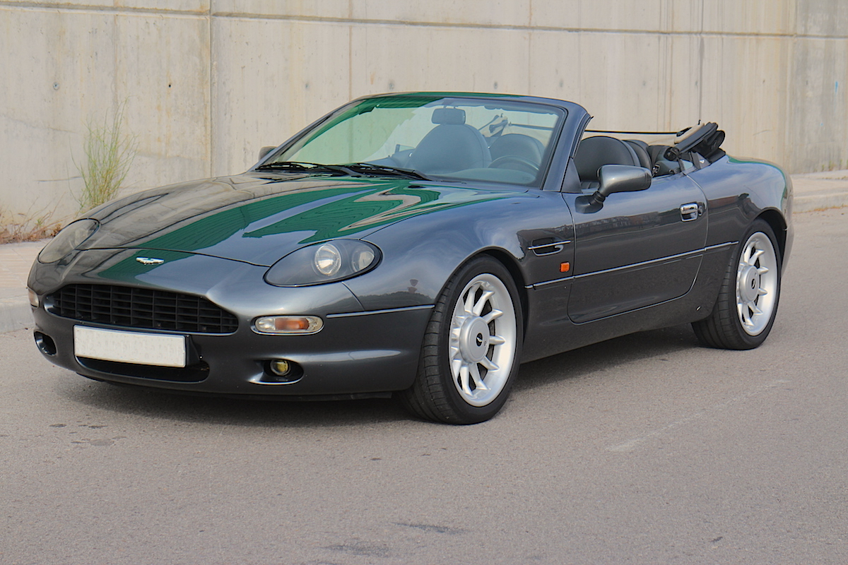 aston martin db7 volante for sale collection cars since. Black Bedroom Furniture Sets. Home Design Ideas