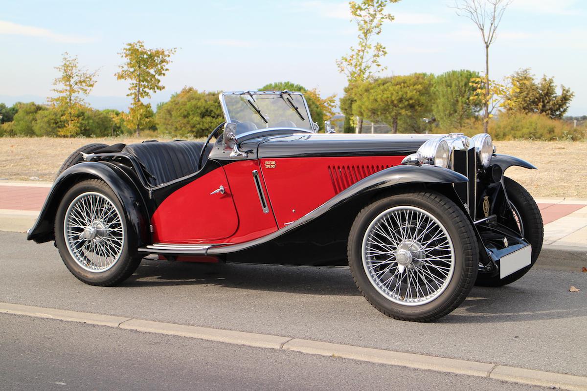 MG PA compresor de 1934 en venta