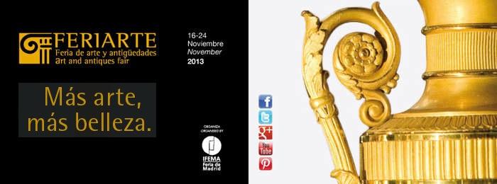 Exponemos en Feriarte 2013
