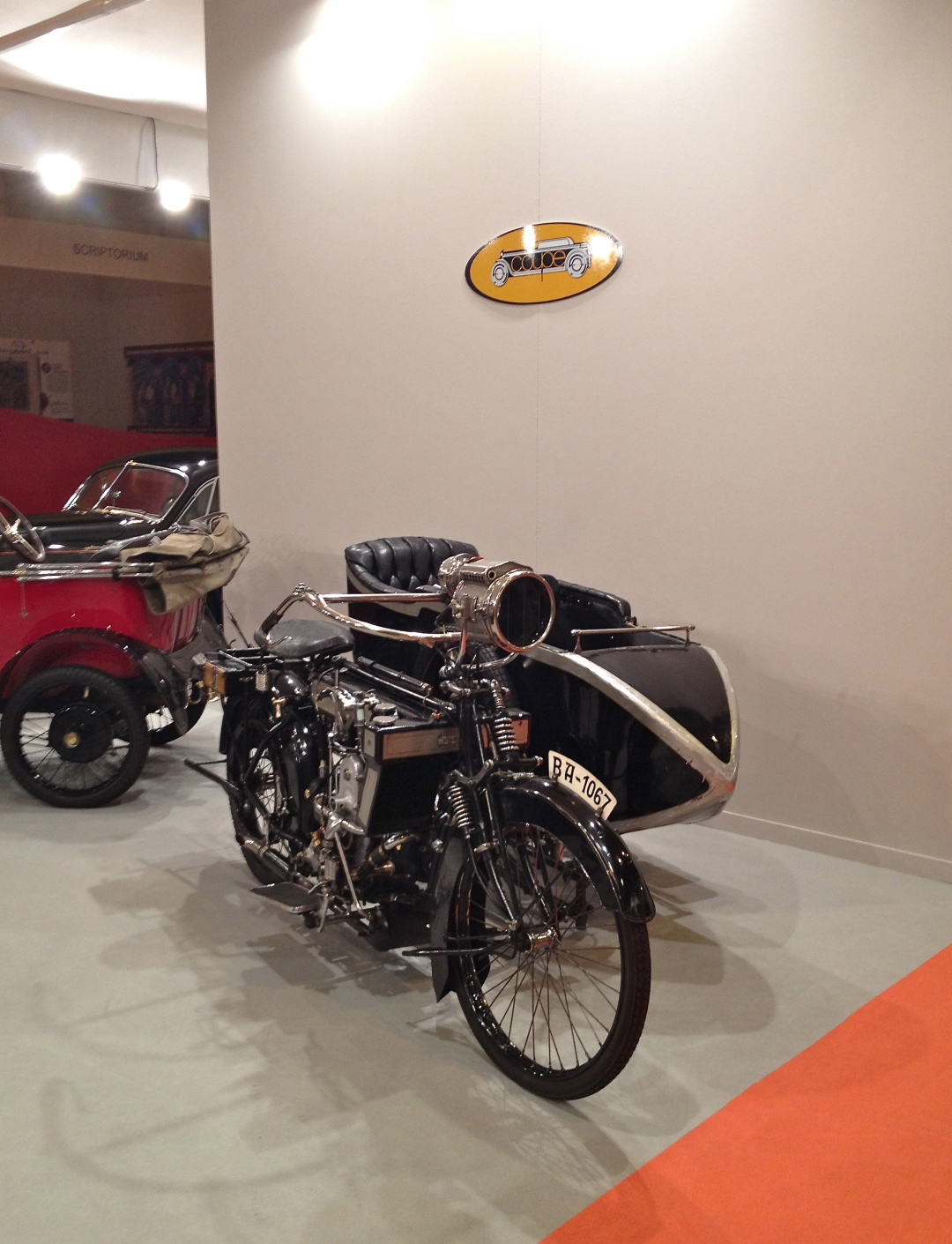 Collection cars at Feriarte