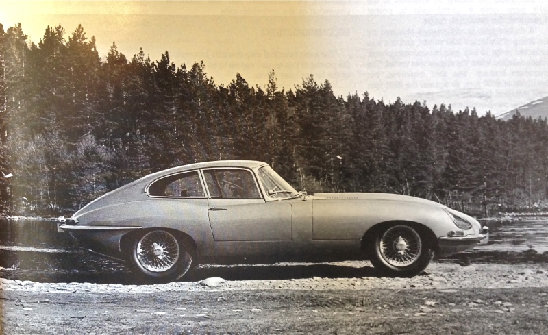 Jaguar E type Coupe de 1962
