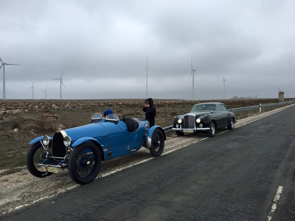 Entregando el Bugatti T30
