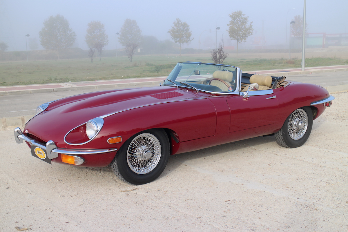 1969 Jaguar E type SII roadster for sale
