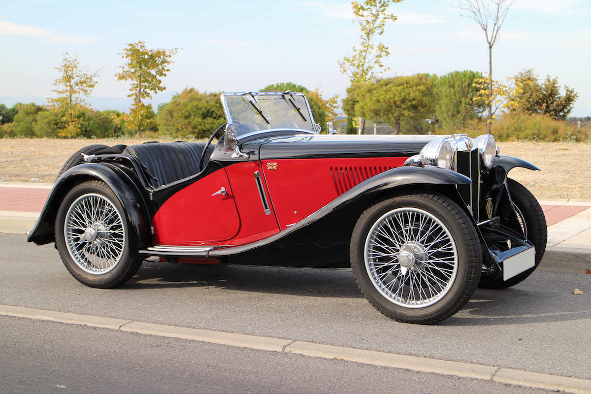 1934 MG PA supercharged for sale